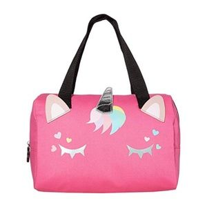 Betsey Johnson l Pink Unicorn Lunch Tote